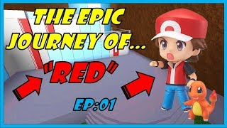 """RED'S"" STORY IN ROBLOX / POKEMON BRICK BRONZE / ROBLOX/ SKIT"