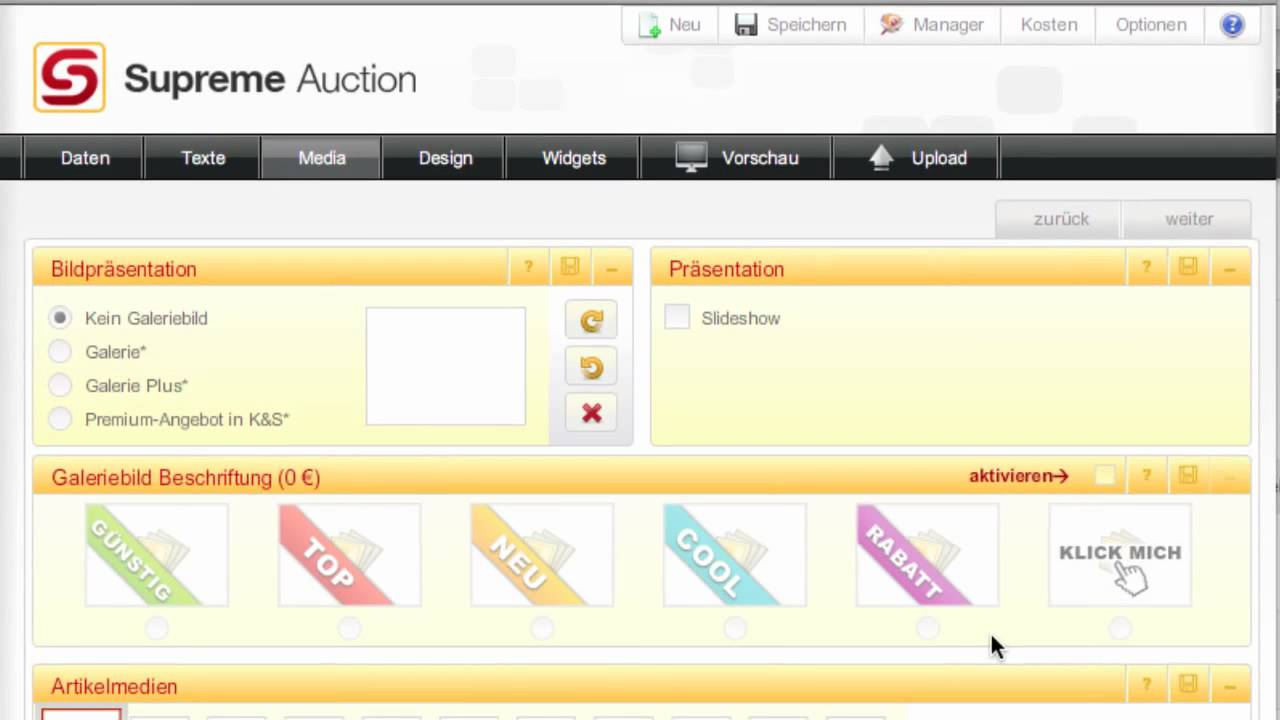 Supreme Auction - eBay Software Nr.1 - YouTube