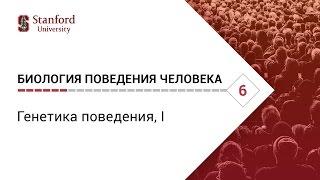 Биология поведения человека: Лекция #6. Генетика поведения, I [Роберт Сапольски, 2010. Стэнфорд]