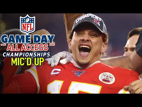 NFL Conference Championships Mic'd Up, 'Of course I'll make a play!' | Game Day All Access