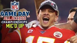 NFL Conference Championships Mic'd Up, Of course I'll make a play! | Game Day All Access
