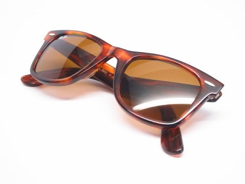 26e4284494da Ray-Ban RB 2140 Original Wayfarer 954 Light Havana Sunglasses   Close Look