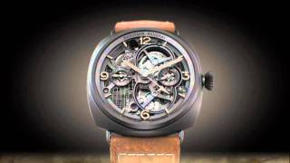 Lo Scienziato: Radiomir Tourbillon GMT