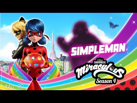 MIRACULOUS   🐞 SIMPLEMAN - TEASER ☯️   SEASON 4   Tales of Ladybug and Cat Noir