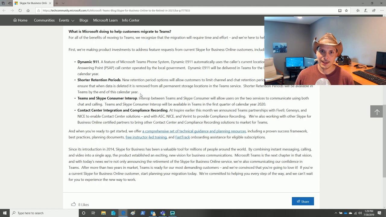 #TeamsRecap - Skype for Business Online to Retire