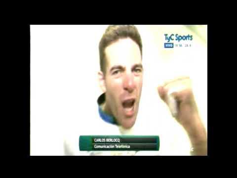 Copa Davis 2016 Final Charla con C. Berlocq luego de la consagración como Campeones