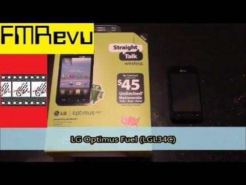 LG Optimus Fuel (L34C) Straight Talk Cell Phone