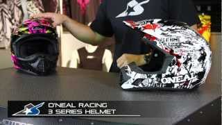 The O'Neal Racing 3 Series helmet leads the MX charge with a potent...