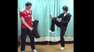 Вин Чун кунг-фу: урок 26 (Прямой удар ногой)