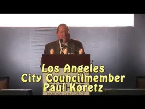 Los Angeles City Councilmember Paul Koretz at Animal Rights Conference 2014