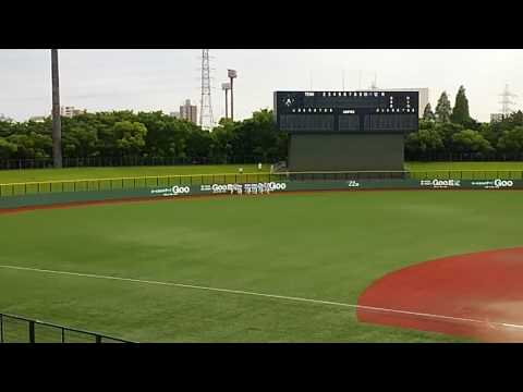 2016 中京大中京VS大府親善試合 中京 わっしょい!
