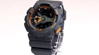 Casio G-Shock GA-110TS-1A4DR Watch Overview and Main Features
