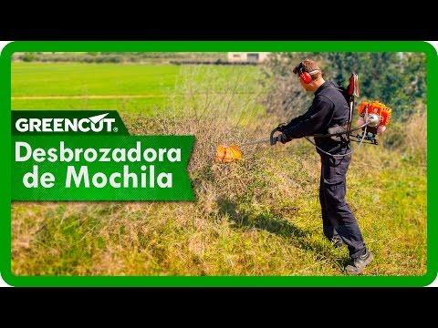 Desbrozadora De Gasolina Mochila 5-1 Cilindrada 65 Cc