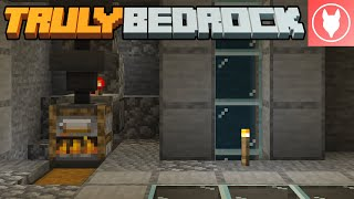Truly Bedrock S1 : E21 - Furnace XP Farm and Auto Kelp Farm!