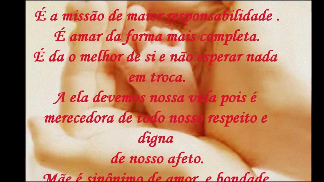 Mensagem De Aniversario De Um Ano Para Filho: ***Mensagem De Um Filho Para Mãe***