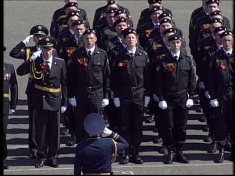 Парад Победы на Советской площади Ярославля  9 мая 2016 года