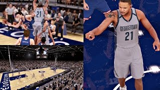 nba 2k16 ps4 mycareer college game 3 he got posterized ep 9