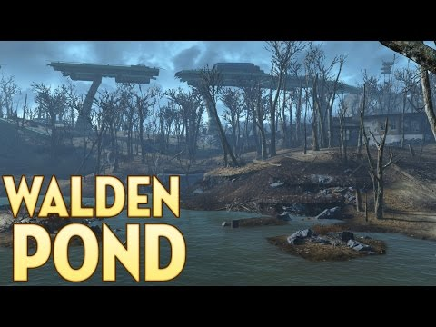 Clearing Walden Pond - Fallout 4 [Stealth Play] - Part 1