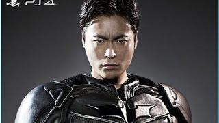 PS4《蝙蝠俠:阿卡漢騎士》在日本的電視廣告。 由山田孝之演出,因為很...