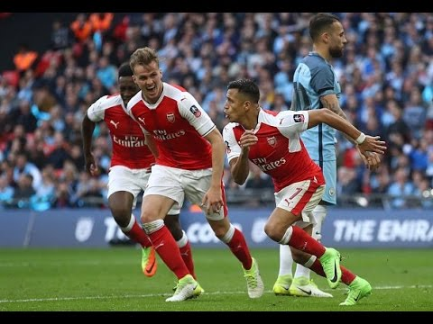 Arsenal vs Manchester City 2-1 April 23rd 2017 All Goals and Highlights!