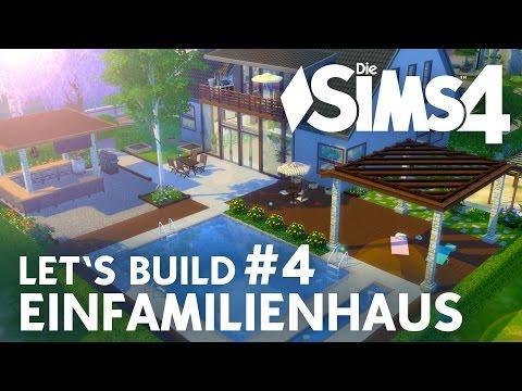 Die Sims 4 Let's Build Einfamilienhaus #4 | Terrasse & Garten