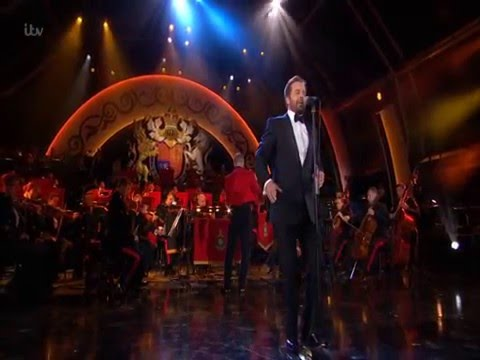 Alfie Boe Sings 'A Nightingale Sang in Berkeley Square' Her Majesty The Queen's 90th Birthday Bash