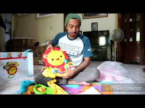 Unboxing Fisher-Price Push Walker Musical Lion 🐾