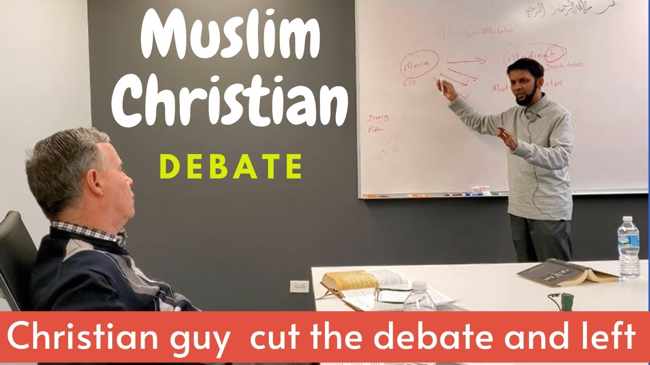 Christian Muslim Debate got a little hot – Missionary said 'We hit the wall' and left