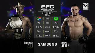 EFC 71 Zulu Boy vs Magno Alves