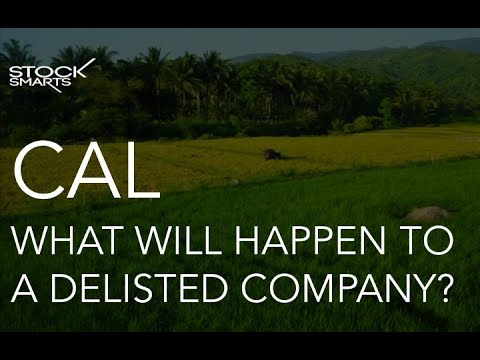 WHAT WILL HAPPEN TO A DELISTED COMPANY?