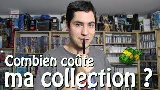 Combien coûte toute ma collection de JEUX VIDEO ?