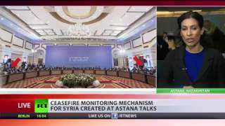 Russia, Iran, Turkey create mechanism to support Syria ceasefire