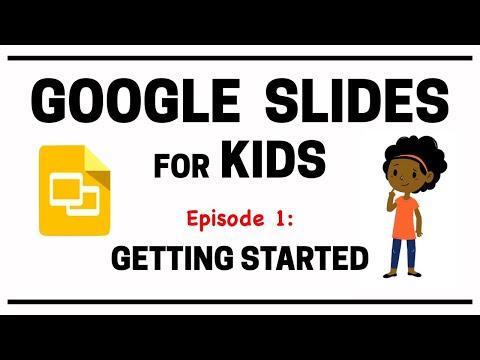 Google Slides for Kids - Episode 1 - YouTube