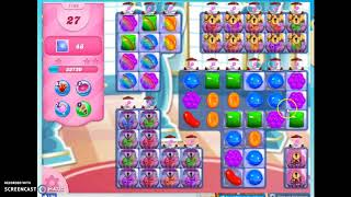 Candy Crush Level 1106 AudioTalkthrough, 1 Star 0 Boosters