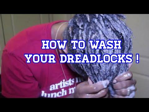 How I wash my dreadlocks!