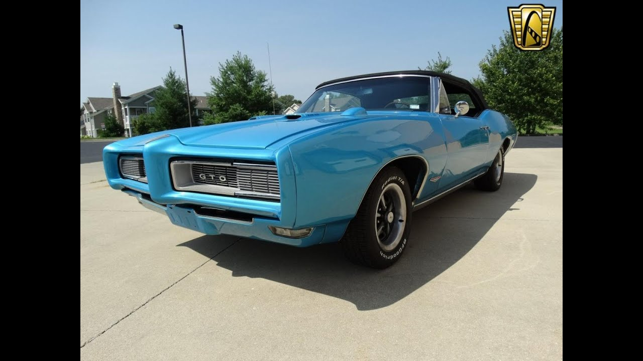Pontiac Gto For Sale At Gateway Classic Cars Stl Youtube