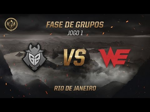 G2 x World Elite (Fase de Grupos - Jogo 3 - Dia 2) - MSI 2017