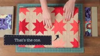 Quilty: Blocks-A-Go-Go: Simple Sawtooth Star