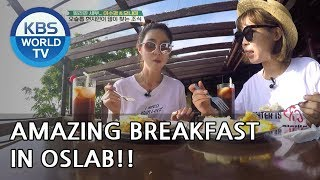 Amazing Breakfast in Oslab! [Battle Trip/2018.09.02]