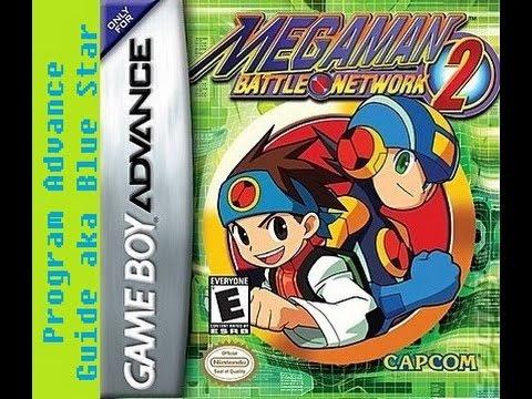 Mega Man Battle Network 2 - guide/list to all Program Advance (PA) combos aka Blue Star