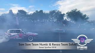 vuclip Sam Sam / Team Numbi & Renzo / Team Saluki at Swazi Spinfest 2018