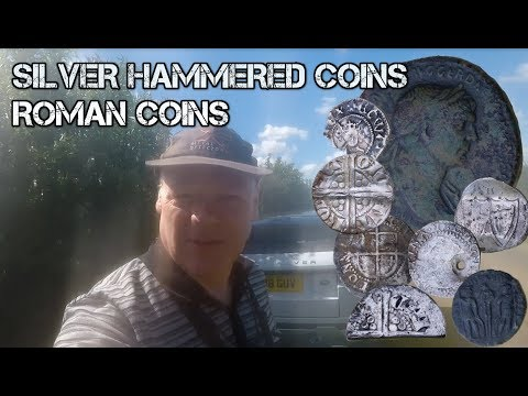 XP DEUS with HOPEUS MAXIMUS - UK Metal Detecting - silver hammered coins and more - Video 7 of 2017