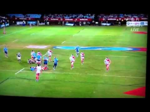 Izzy Dagg Gets Smoked By A Prop