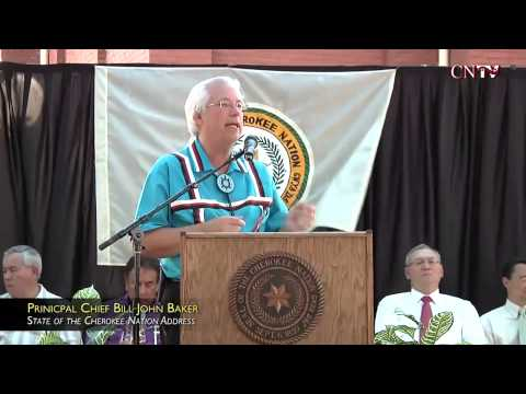 2013 State of the Nation address for the Cherokee Nation