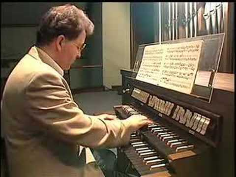 Bach Organ Partita at Lyons, New York