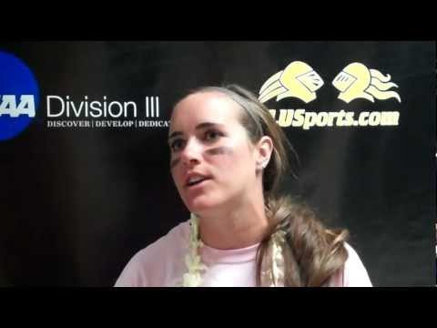 Shannon Tinsley Post-Game (Occidental - 4/6/12)