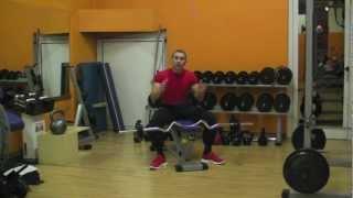 Tricipiti con bilanciere sagomato (Ez) - Personal Trainer #17