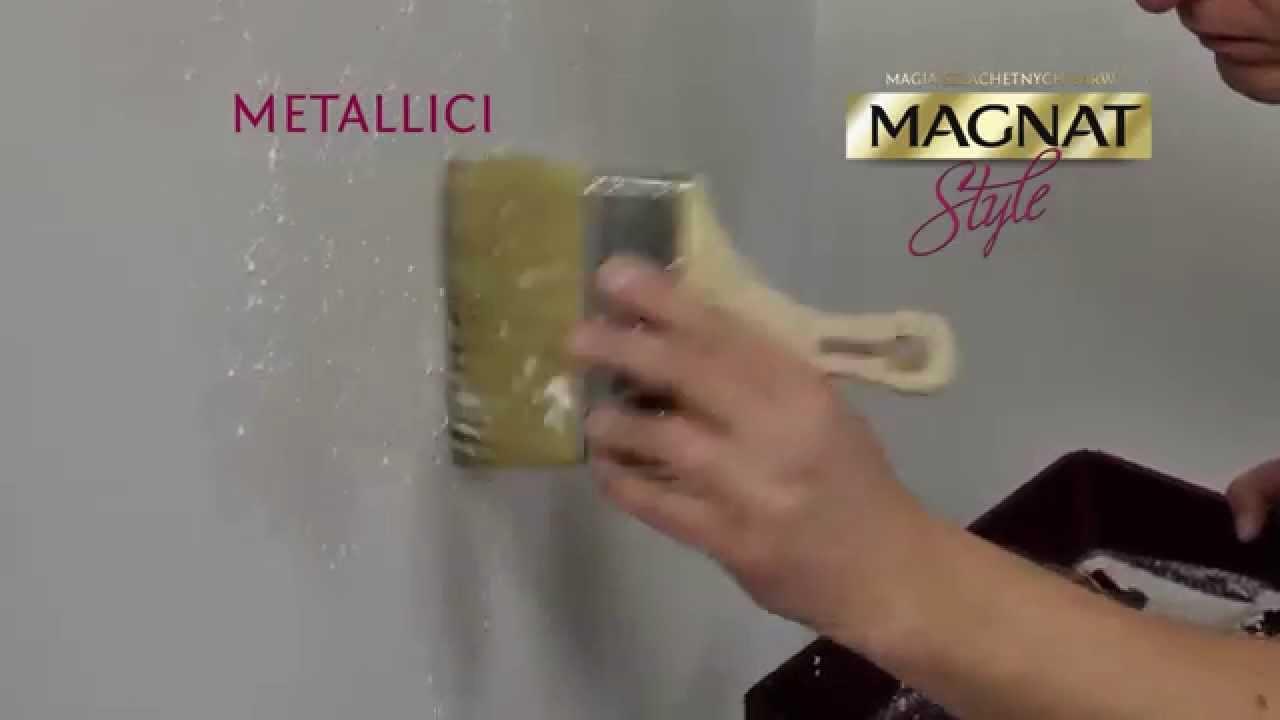 Jak Malowac Farba Strukturalna Metallici Magnat Style Film