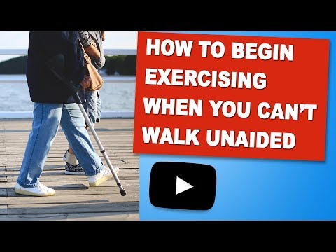 How To Begin Exercising When You Can't Walk Unaided | Exercises For MS