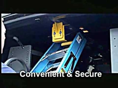 Ladder Keeper Ladder Rack:  Interior Van Ladder Racks | Official Adrian Steel Video